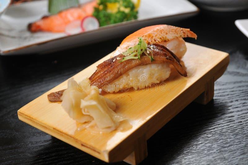 Sushi d'anguille photo libre de droits