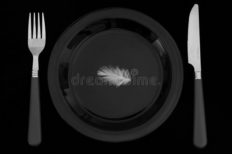 Nourriture légère image libre de droits