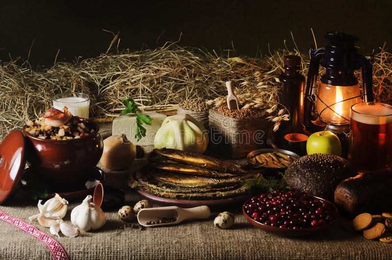 Nourriture letton images libres de droits