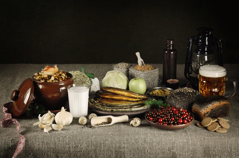 Nourriture letton photo stock