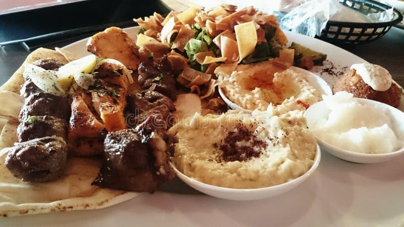 nourriture libanaise photos stock