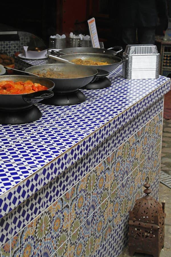 Nourriture marocaine image stock