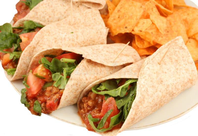 Nourriture mexicaine colorée image stock