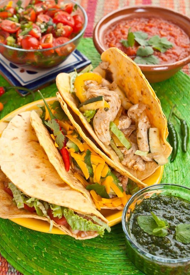 Nourriture mexicaine traditionnelle photographie stock libre de droits