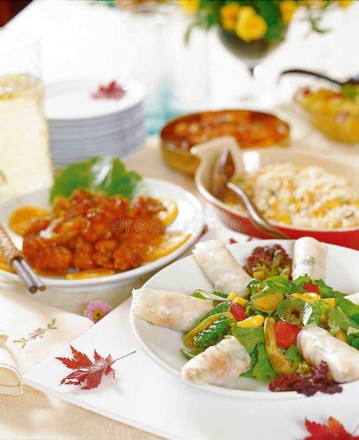 Nourriture occidentale image stock