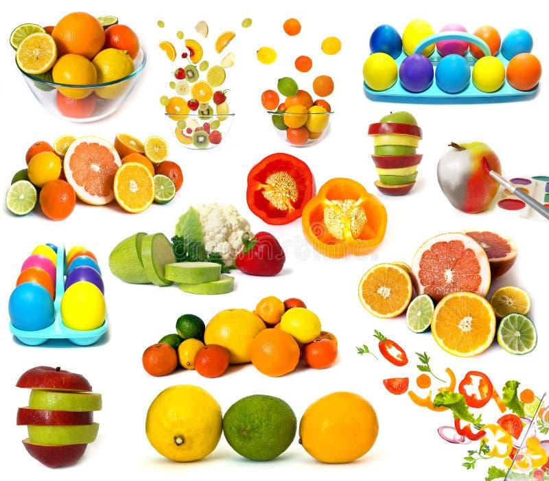 nourriture olorful photographie stock