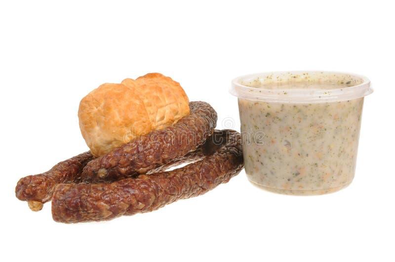Nourriture polonaise de Tradiional photographie stock