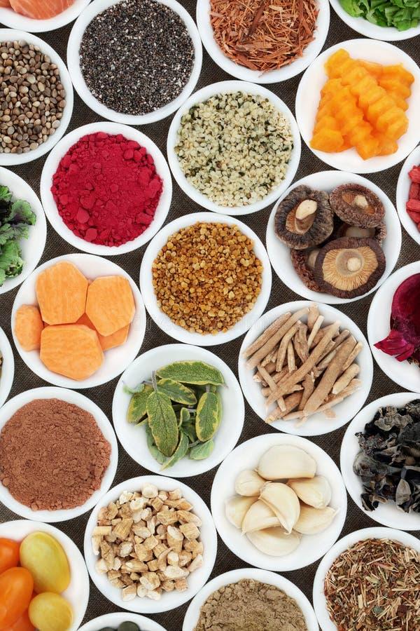 Nourriture pour amplifier Brain Cognitive Functions photo libre de droits