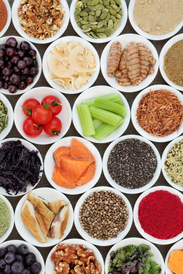 Nourriture pour amplifier Brain Power image stock