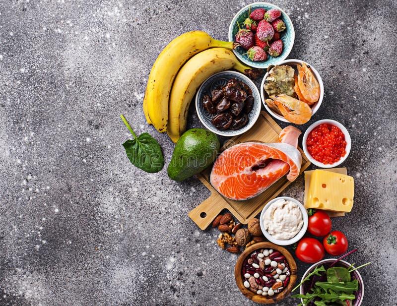 Nourriture pour la bons humeur et bonheur photographie stock