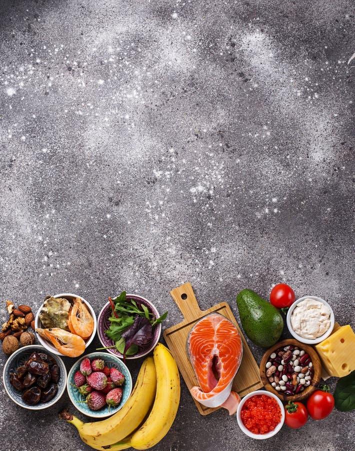 Nourriture pour la bons humeur et bonheur photos stock