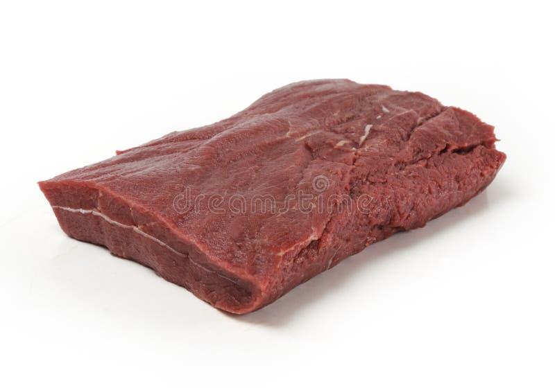 Nourriture préparée par boeuf de viande crue image libre de droits