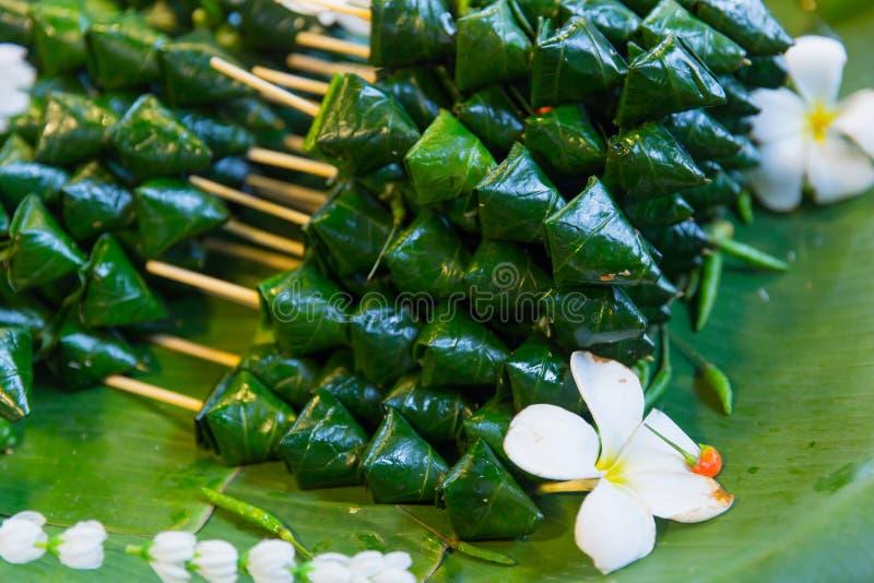 Nourriture royale thaïlandaise d'apéritif de Miang Kham photos stock