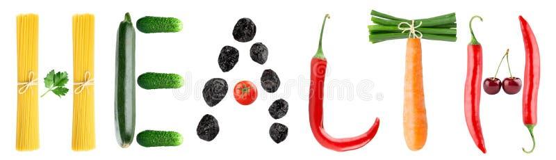 Nourriture saine illustration stock