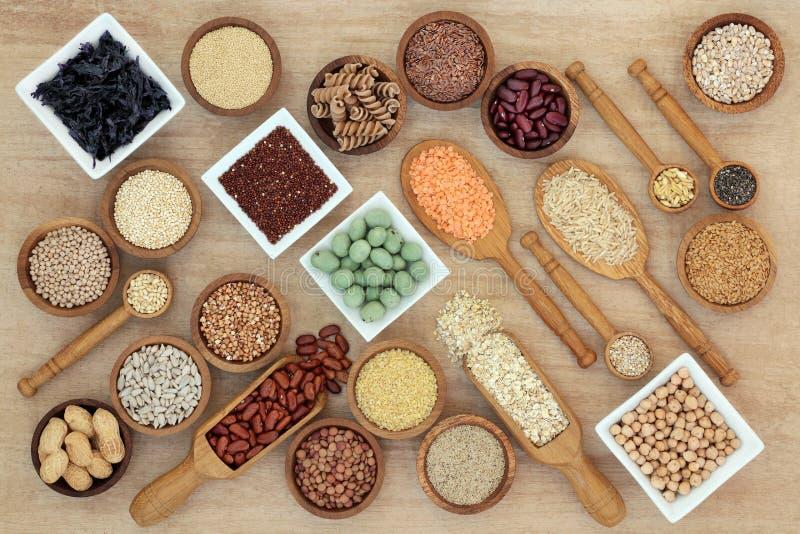 Nourriture saine de régime macrobiotique photographie stock libre de droits
