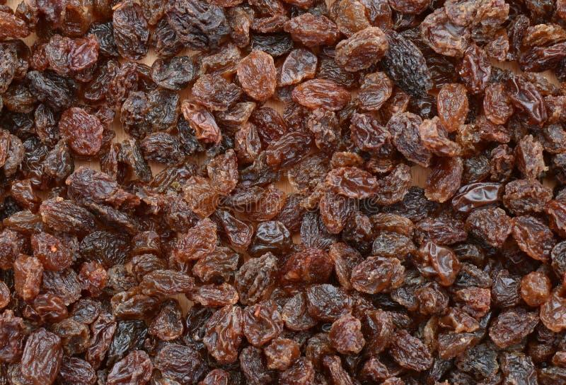 Nourriture saine de r?gime Raisin sec de raisin sec comme texture de fond photographie stock libre de droits