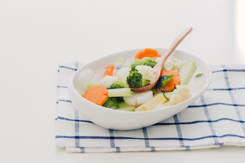 Nourriture saine Mélange végétal Photo de studio photographie stock