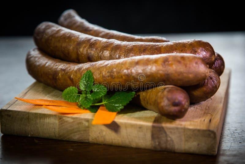 Nourriture, saucisse, viande photographie stock
