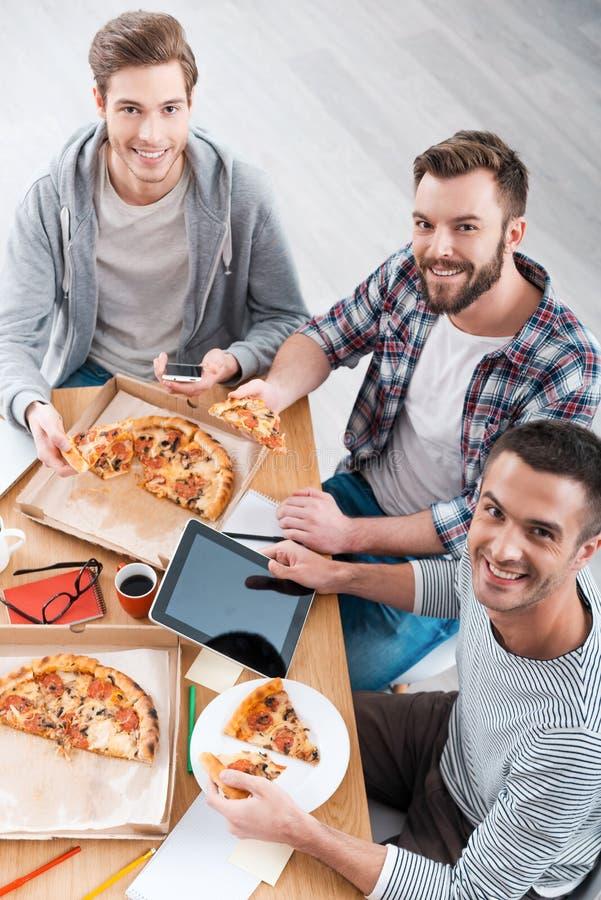 Nourriture savoureuse pour travailler bon images libres de droits