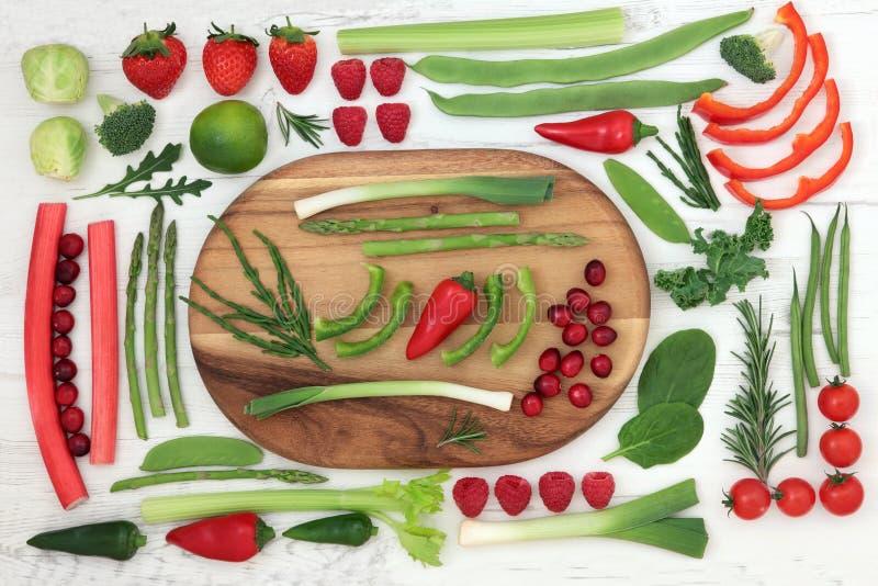 Nourriture superbe fraîche saine images stock