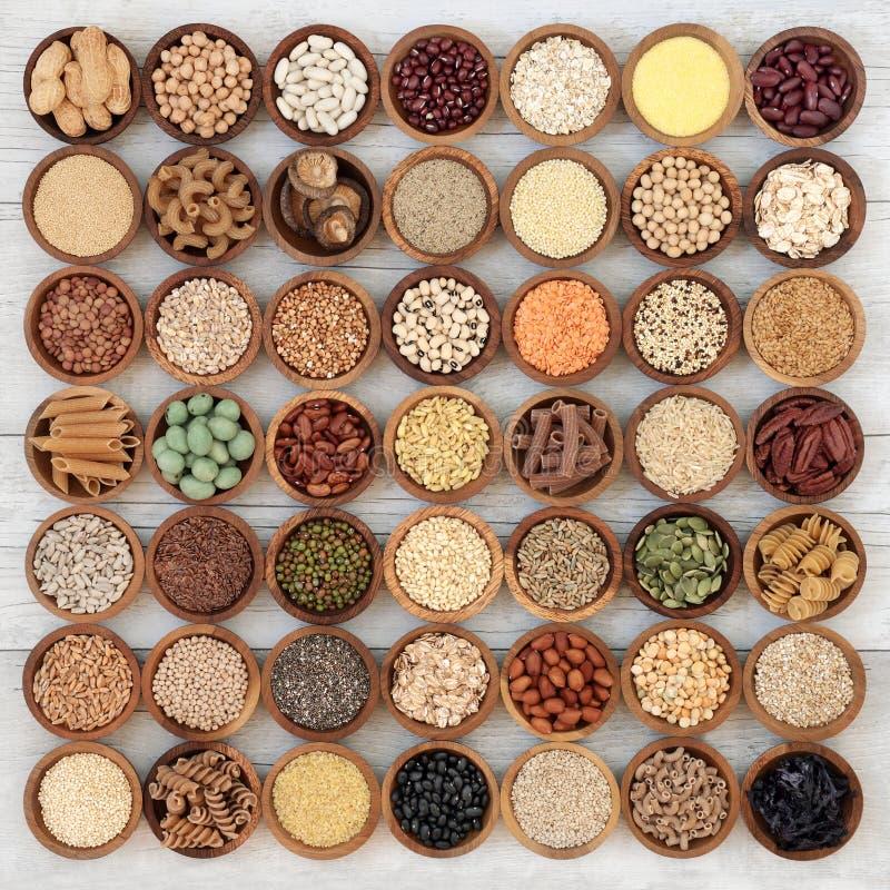 Nourriture superbe macrobiotique sèche photographie stock