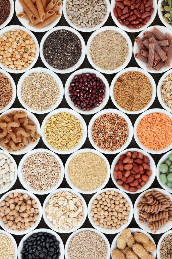 Nourriture superbe macrobiotique saine photographie stock libre de droits