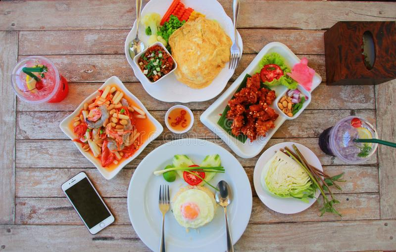 Nourriture thaïe délicieuse photos stock