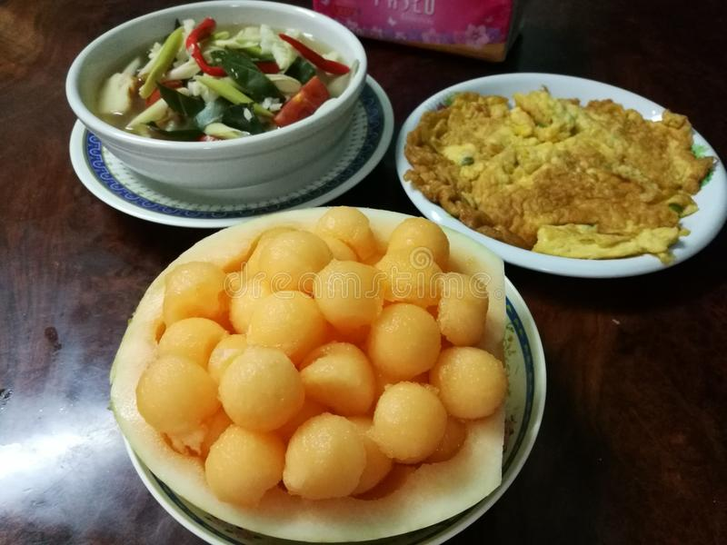 Nourriture thaïe - friture #6 de Stir photos stock