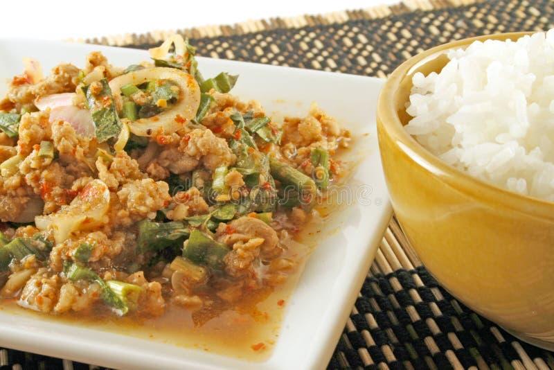 Nourriture thaïe traditionnelle photo stock