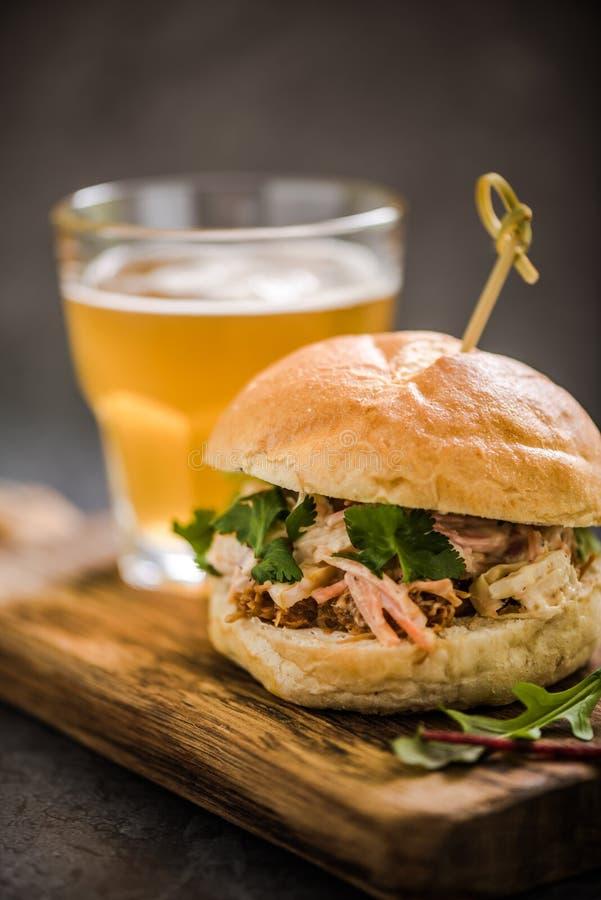 nourriture traditionnelle de bar, bap de porc photographie stock libre de droits