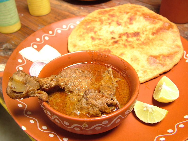 Nourriture traditionnelle indienne photo libre de droits