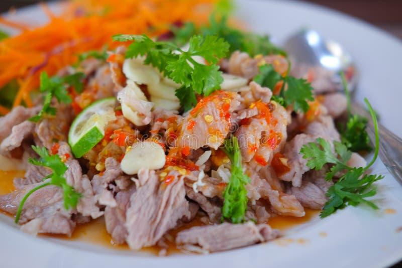 Nourriture traditionnelle thaïlandaise : ` DU MÉMORANDUM D'ACCORD MA-NOW DE ` image libre de droits