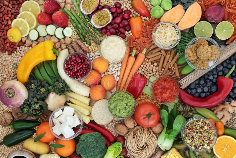 Nourriture Végétale Pour Une Alimentation Éthique photos stock