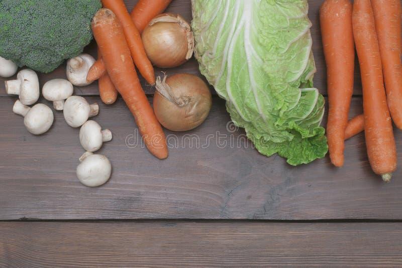 Nourriture végétarienne saine images libres de droits