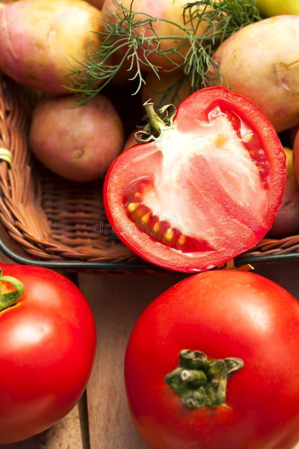Nourriture végétarienne saine images stock