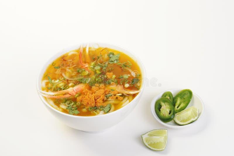 Nourriture vietnamienne d'isolement sur le blanc photos stock
