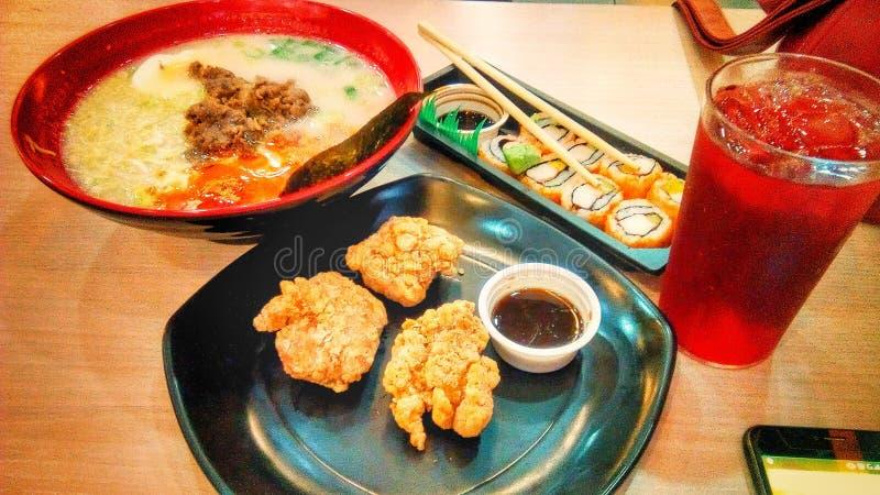 nourritures asiatiques photographie stock