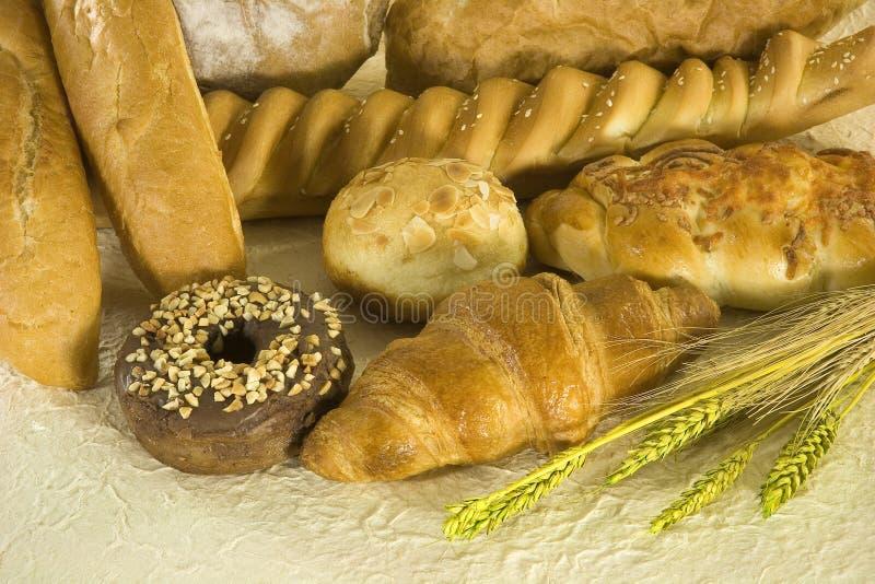 Nourritures de boulangerie image libre de droits