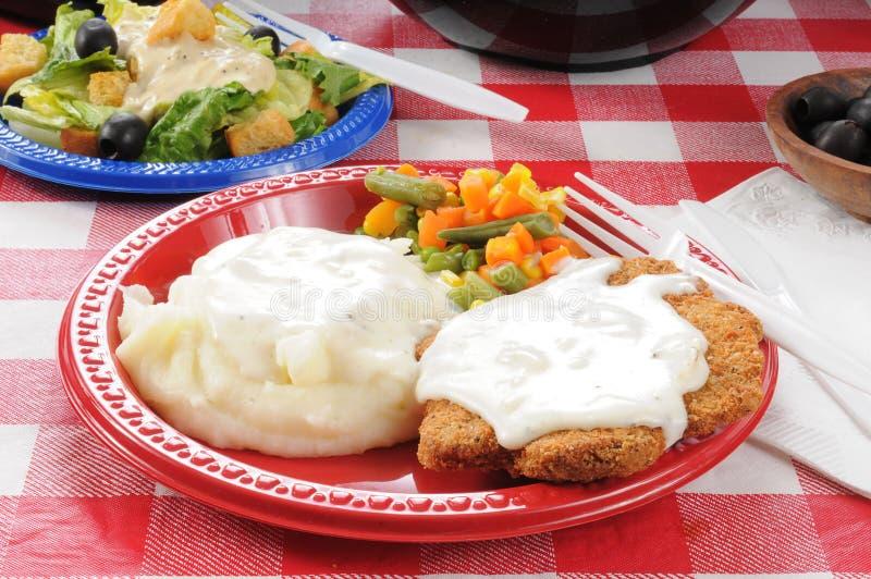 Nourritures de pique-nique d'été photos stock