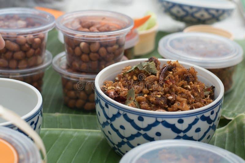 Nourritures thaïes images libres de droits