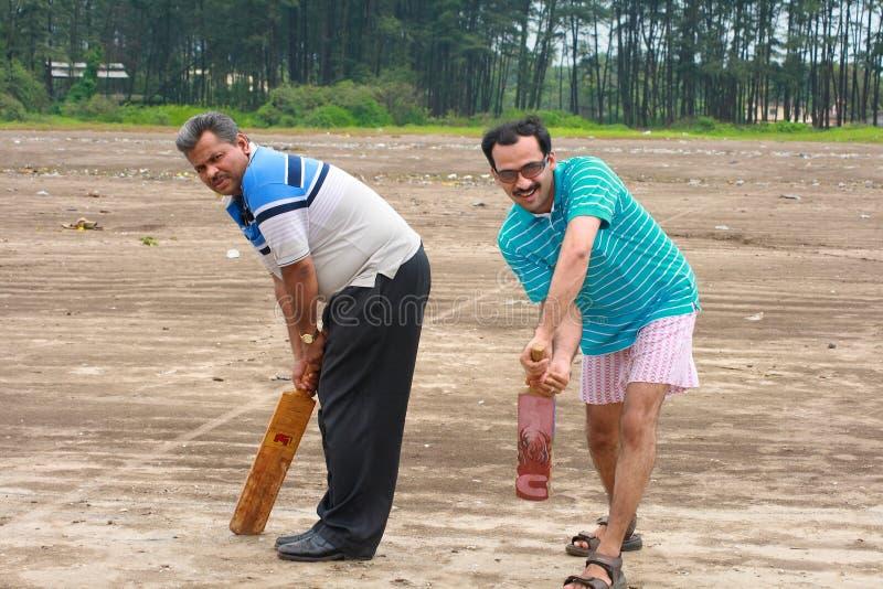 Nous aimons le cricket occasionnel images libres de droits