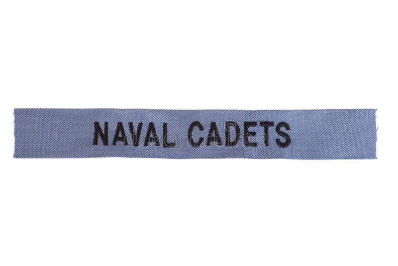 Nous cadets navals photographie stock libre de droits
