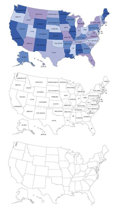 Nous carte politique