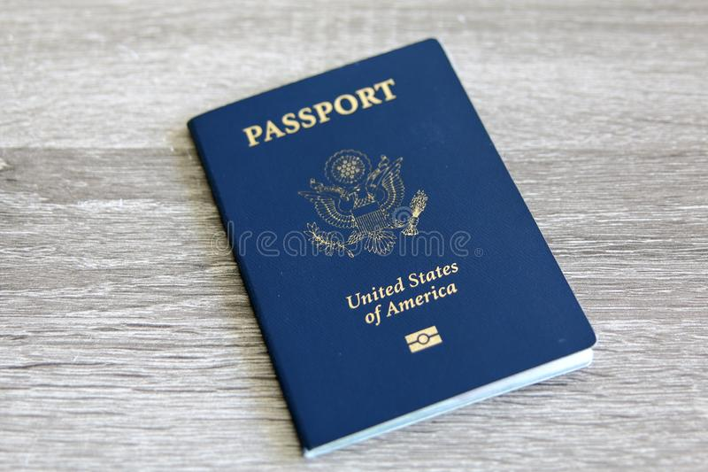 Nous passeport images libres de droits
