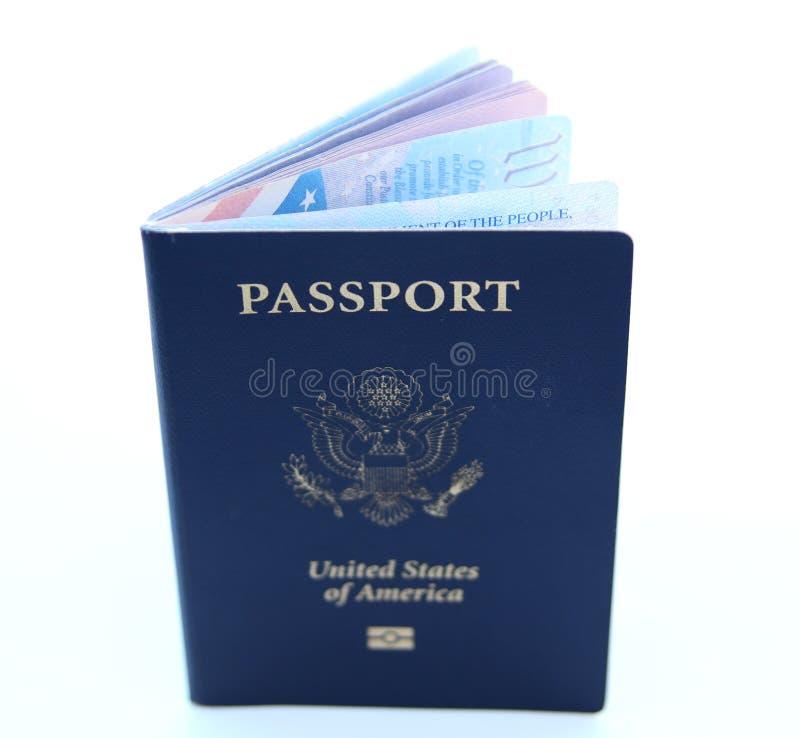 nous passeport d'isolement photos stock