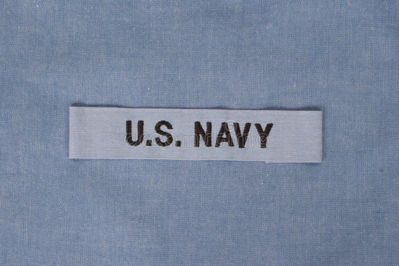 Nous uniforme de marine images stock