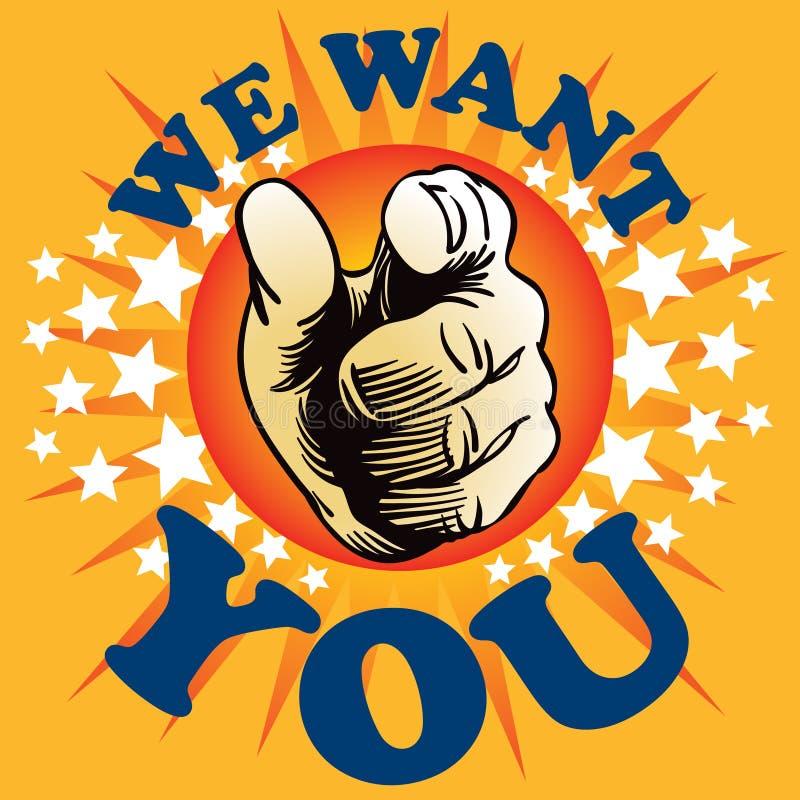 Nous vous voulons