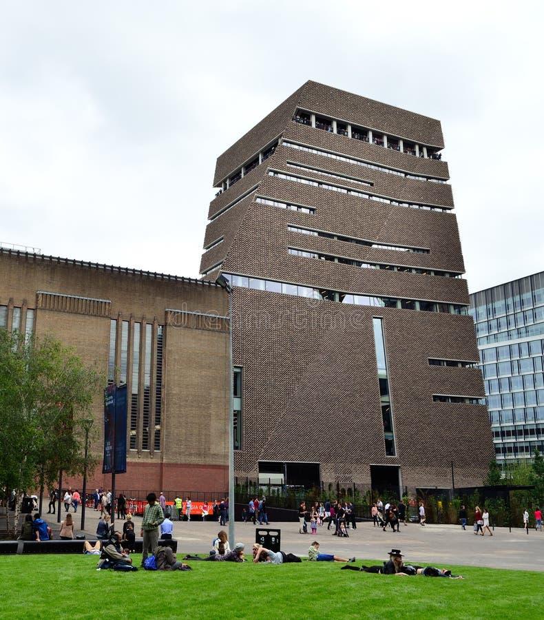 Nouveau bâtiment de Tate Modern image libre de droits