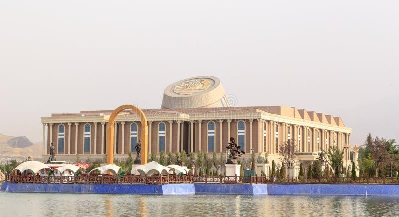 Nouveau bâtiment du Musée National le Tadjikistan, Dushanbe photo stock