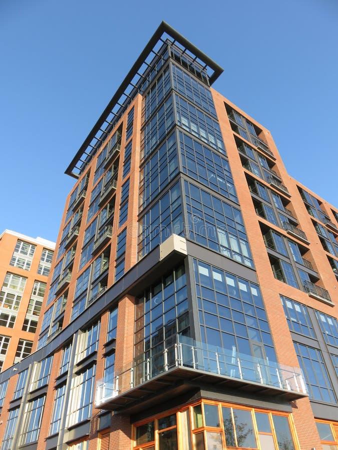 Nouveau bâtiment grand dans le Washington DC image libre de droits